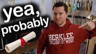 Should You Go to a Music College? (Berklee, Musician's Institute, Julliard, etc.)