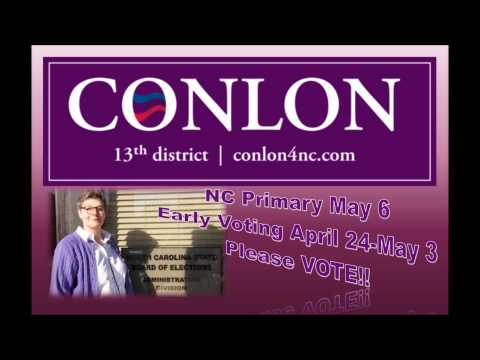 The Social Spitball Show Interview with Virginia Conlon for Congress NC 13 VOTE MAY 6!