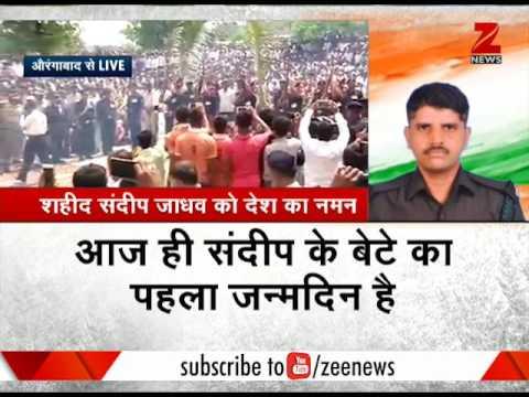 Watch: Sandeep Jadhav's son performing his funeral ceremonies