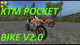 Mod Vorstellung Farming Simulator Ls17:KTM POCKET BIKE V2.0