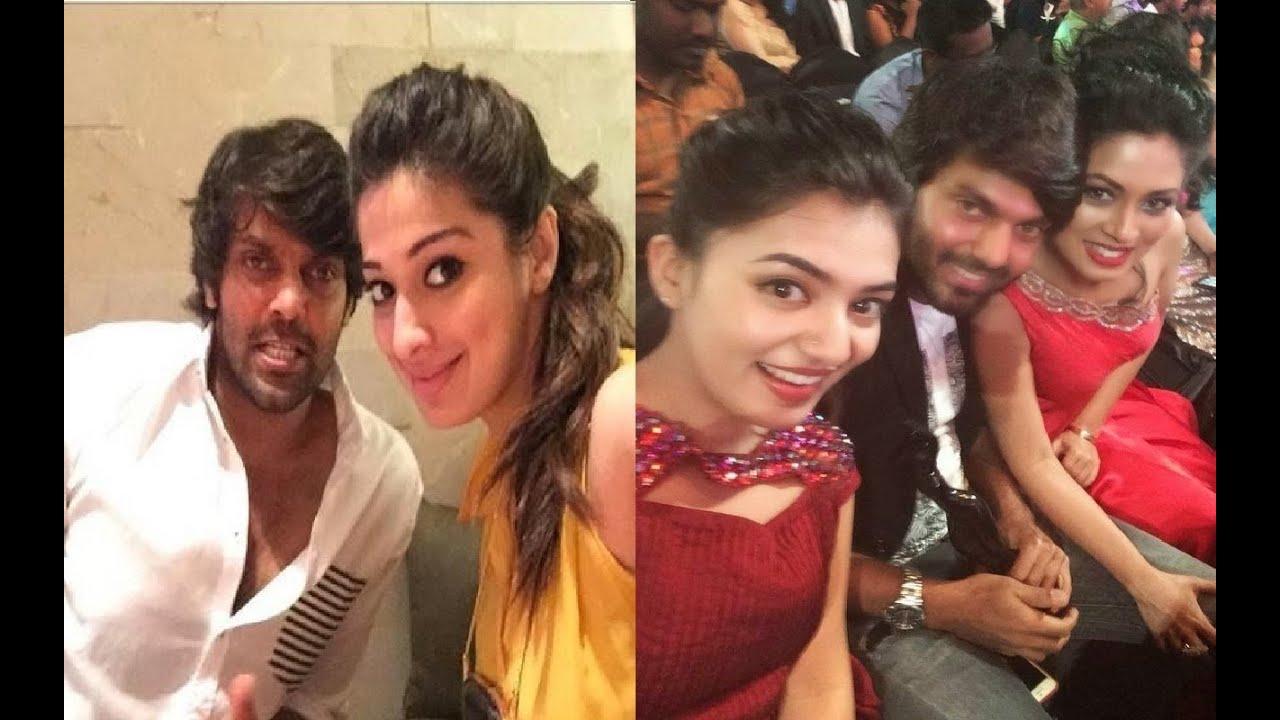 arya hot real life selfie photos tamil actor arya