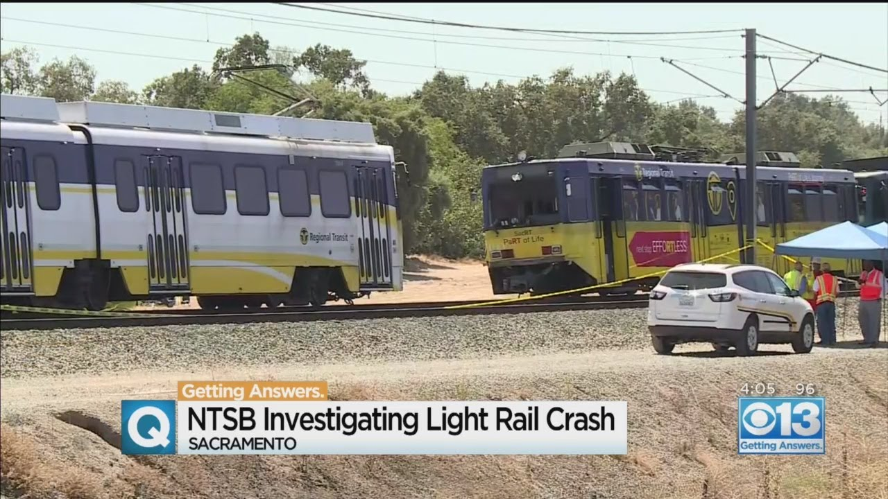 NTSB Investigating Light Rail Crash