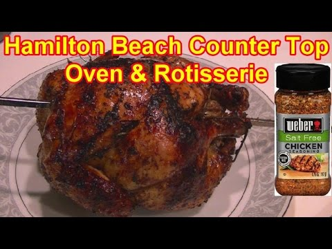 Hamilton Beach Rotisserie Chicken