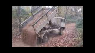 5 Ton Dump Truck Hydraulic Dump Bed Conversion