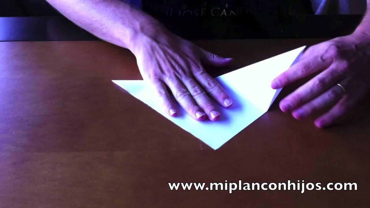 Gorro de papel sencillo - YouTube