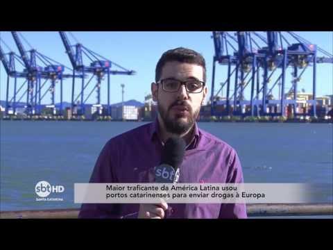 Maior traficante da América usou portos catarinenses para enviar drogas à Europa