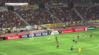 PES 2015 Copa Libertadores Peñarol vs Santos Laguna PS4