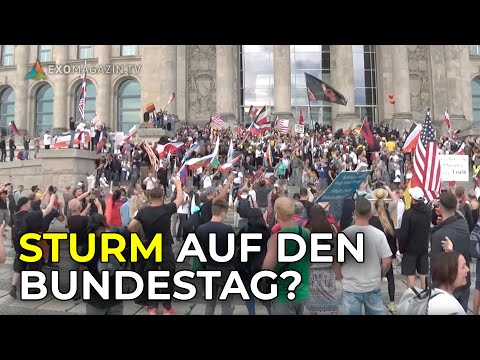 Sturm auf Reichstagsgebäude - Demo behindert und aufgelöst | Das 3. Jahrtausend SPEZIAL