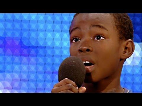 Malakai Paul sings Beyonce Listen - Britain's Got Talent 2012 audition - Preview