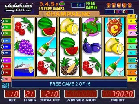 Champagne Party Slot Machine