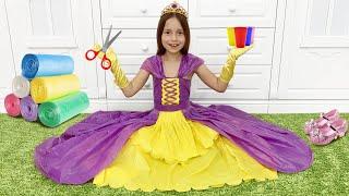 صوفيا تصنع فستانًا جديدًا لحفلة الأميرة, أفضل سلسلة قصص تعليمية وأخلاقية للأطفال