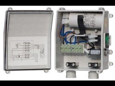 Single Phase Submersible Pump Starter Circuit Diagram Hindi