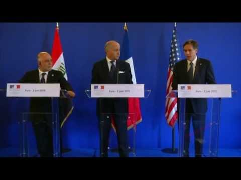 Press Availability with Iraqi Prime Minister and French Foreign Minister