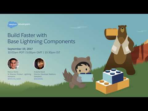 Build Faster with Base Lightning Components