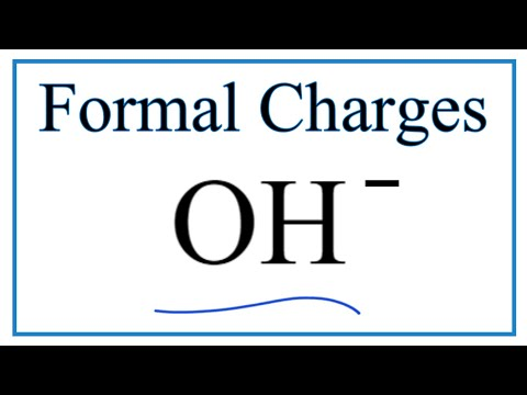 How To Calculate The Formal Charges For Oh Hydroxide Ion Youtube