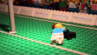 Lego Rugby World Cup RWC 2011 TRY!!!