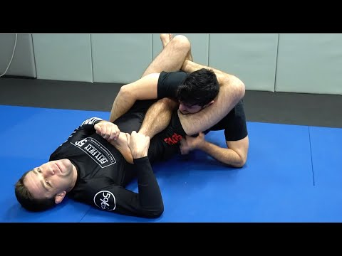 The Disrespectful Triangle From 50/50 Guard