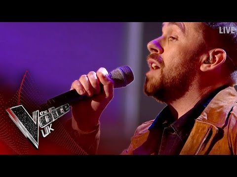 Craig Ward performs 'Castle on the Hill': The Semi Finals | The Voice UK 2017