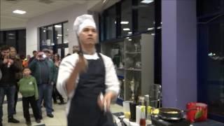 Горячая кухня в Казанском Баскет-холле