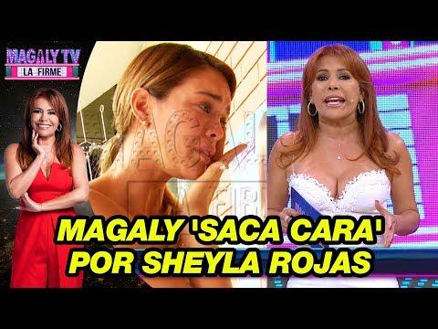 Magaly Medina 'saca cara' por Sheyla Rojas tras crítica de Alicia Pavón