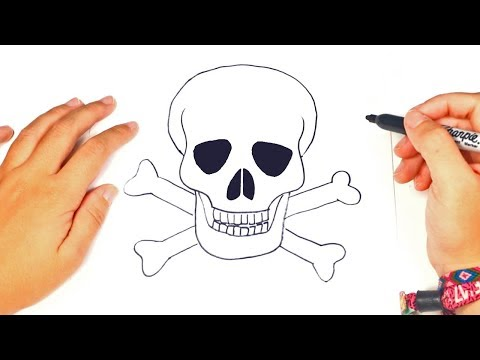 How to draw a Skull Step by Step | Skull Drawing Lesson