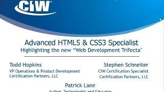 2014 05 14 08 00 CIW Advanced HTML5   CSS3 Specialist