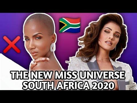 MISS UNIVERSE SOUTH AFRICA 2020 WILL BE NATASHA JOUBERT