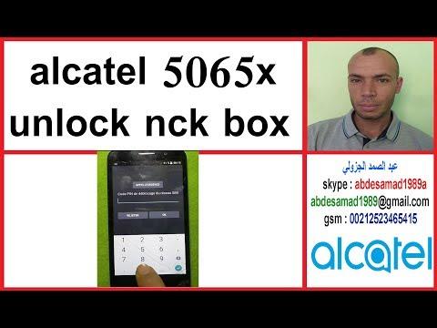 ALCATEL OT 9001X UNLOCK nck dongle by gsm solution