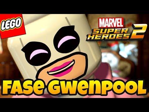 LEGO Marvel Super Heroes 2 PT BR #24 - A 1ª FASE DA GWENPOOL !!!