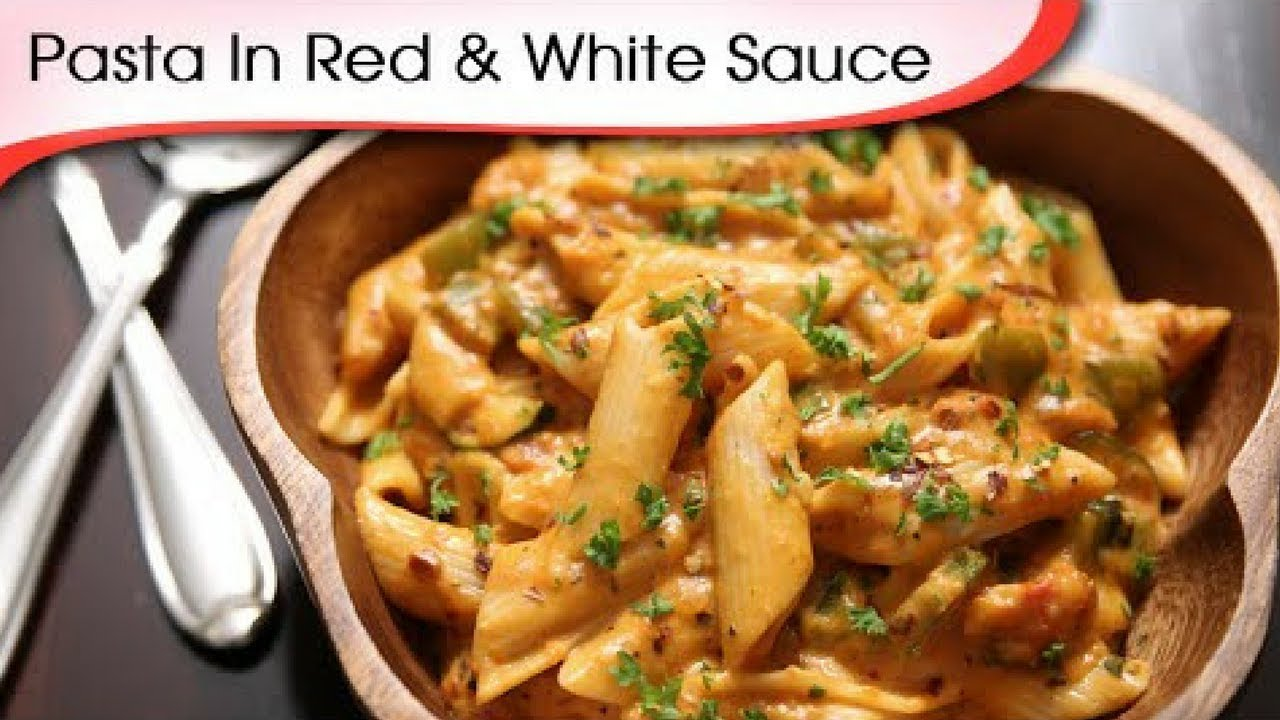 How to make mix sauce pasta in hindi