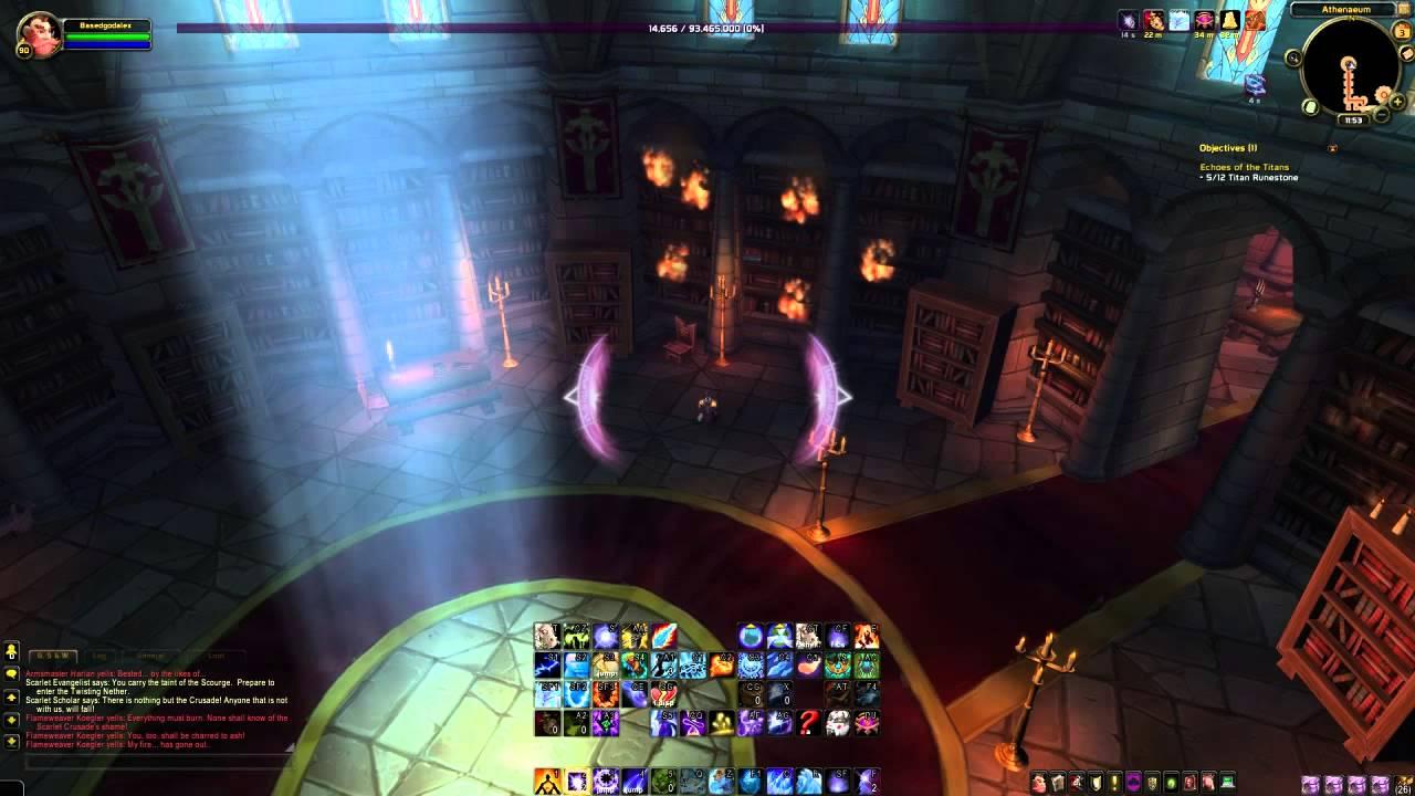 Ancient Dalaran Portal Mage Tome Guide! - Portal to