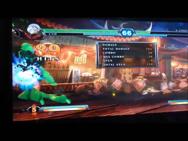 KOF XIII ~ Ash Crimson HD combo 4 stocks 100%dmg