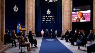 La pandemia marca una inusual edición de los Premios Princesa de Asturias