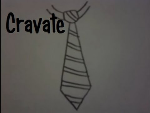 Dessiner une cravate youtube - Cravate dessin ...