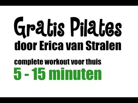 Pilates oefeningen - Workout voor thuis deel 1 (01-13)
