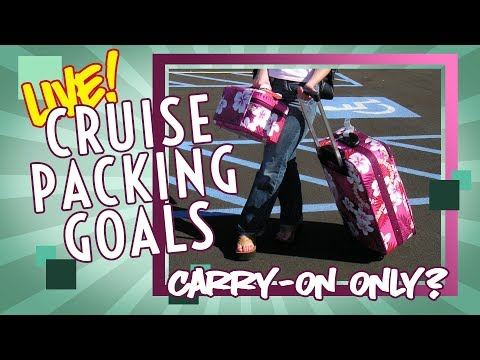 Let's Talk About Packing For A Cruise