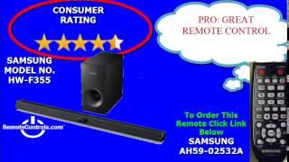 Review Samsung Sound Bar System 2.1 Channel - HW-F355