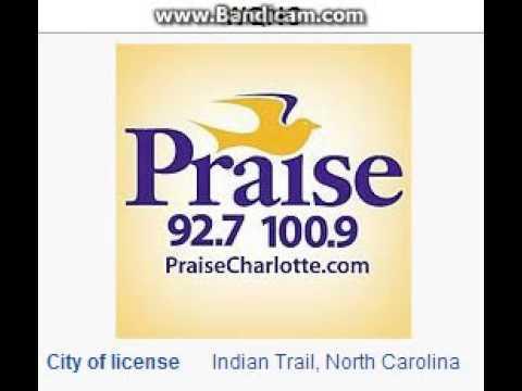 WQNC 100.9 / WPZS 92.7 Praise 100.9/927 Indian Trail Harrisburg, NC TOTH ID at 3:00 p.m. 7/20/2014