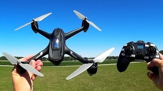 Hubsan H501C GPS Camera Voyager Drone Flight Test Review