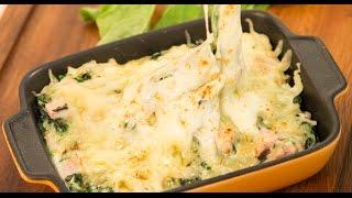 ผักโขมอบชีส - Baked Spinach With Cheese