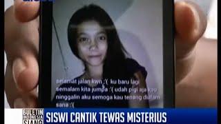 Siswi cantik tewas misterius usai hadiri pesta ulang tahun, Tanjung Balai - BIS 08/08