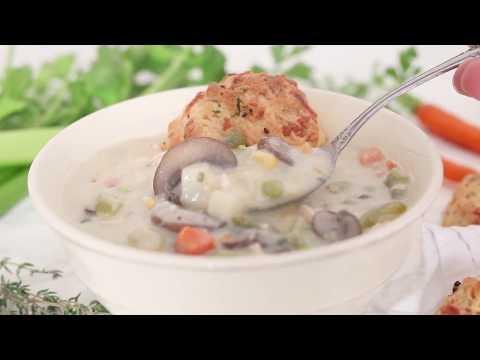 Chicken (or Turkey) Pot Pie Soup