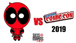 Deadpool vs New York Comic Con NYCC 2019