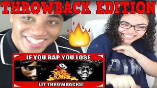 If You Rap You Lose # 19 Throwback Edition | IF YOU RAP YOU LOSE ! (OLD SCHOOL HIP HOP) WITH MY DAD