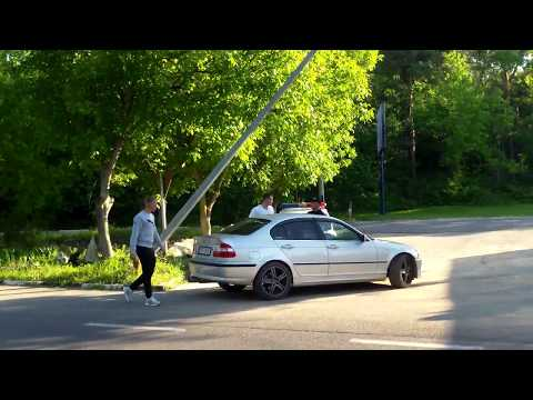 Poliţia patrulare vîna în loc periculos la marginea urbei - Curaj.TV