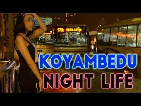 Night Life Of Koyambedu | Koyambedu Market People's Life  | Chennai | 1Yes Tv