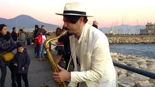 \DANCE MONKEY\ - STREET SAX PERFORMANCE