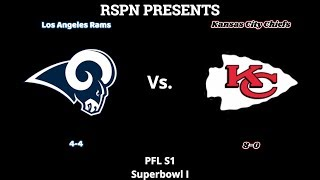 PFL [Superbowl I] Los Angeles Rams v Kansas City Chiefs