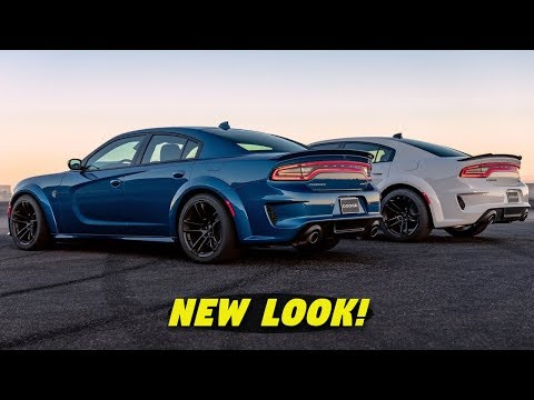 OFFICIAL! 2020 Dodge Charger Widebody Scat Pack & Hellcat ALL INFO (New Features + Colors)