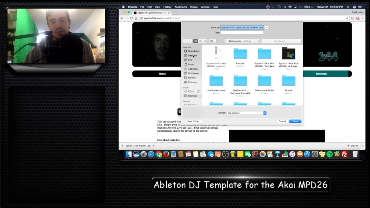 Akai MPD26 Template for Ableton Live - Free Download